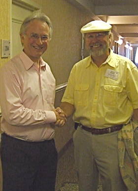 Richard Dawkins and Howard Replogle at AAI Convention